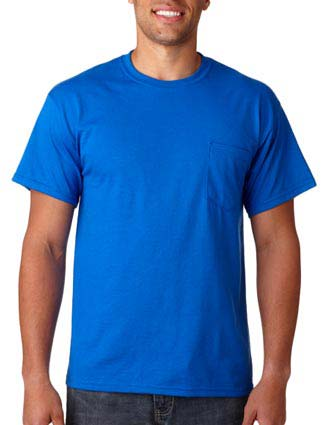 Gildan Adult Gildan DryBlendT-Shirt with Pocket-GI-G8300