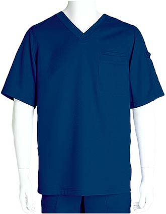 Grey's Anatomy Mens Three Pocket V-neck Scrub Top-GR-0103