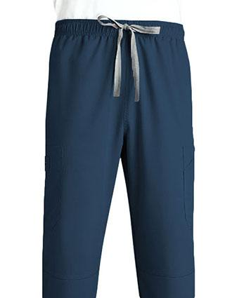 Grey's Anatomy Men's Six Pocket Elastic Cargo Scrub Pant-GR-0212