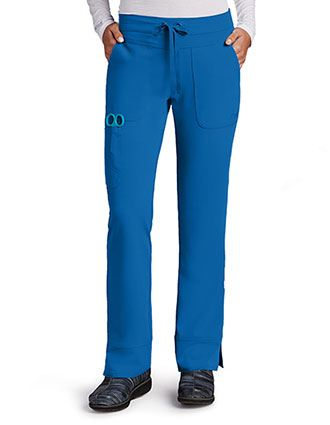 Greys Signature Women's Three Pocket Low Rise Petite Scrub Pant