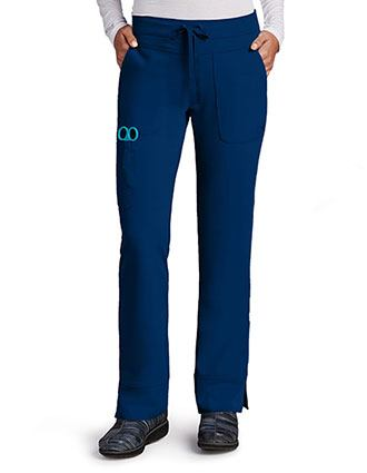 Greys Signature Women's Three Pocket Low Rise Tall Scrub Pant