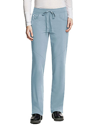 Grey's Anatomy Signature Women's Sofia 5-Pockets Straight Leg Petite Pant