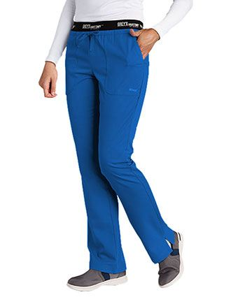 Greys Anatomy Active 3-Pocket Low Rise Waist Scrub Pants-GR-4275