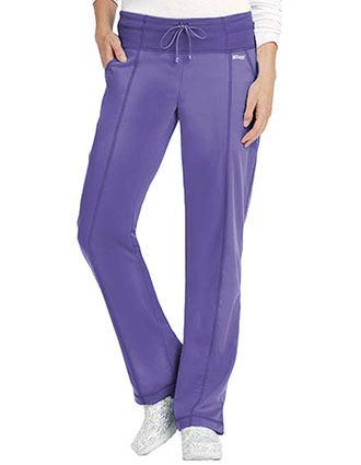 Grey's Anatomy Women's 4 Pocket Yoga Knit Drawstring Scrub Pants
