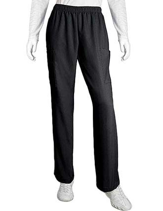 Grey's Anatomy Missy Fit Multipocket Elastic Waist Cargo Scrub Pants-GR-7253