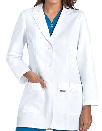 Grey's Anatomy Missy Fit 32 inch Two Pocket Medical Lab Coat-GR-7446