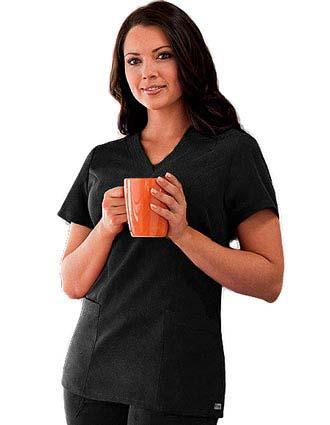 Clearance Sale! Grey's Anatomy Missy Fit V-Neck Nurses Scrub Top