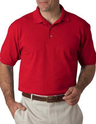 055X Hanes Adult ComfortSoft® Piqué Polo