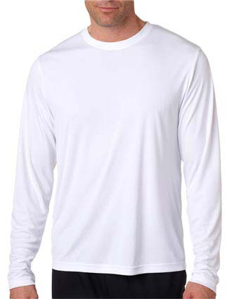 482L Hanes Adult Cool DRI® Long-Sleeve Performance T-Shirt-HA-482L