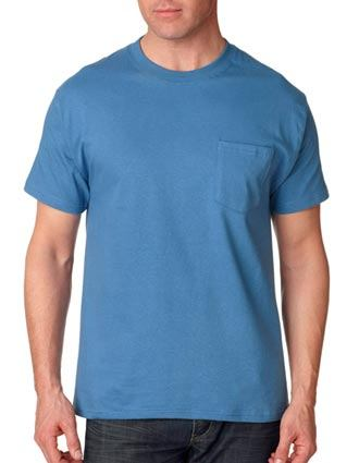 5190 Hanes Adult Beefy-T® T-Shirt with Pocket-HA-5190