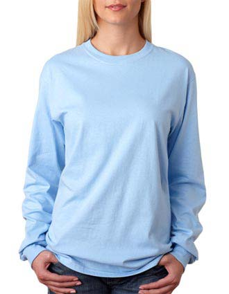 5586 Hanes Adult Tagless® Long-Sleeve T-Shirt-HA-5586