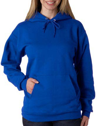 F170 Hanes Adult Ultimate Cotton® Hooded Pullover-HA-F170