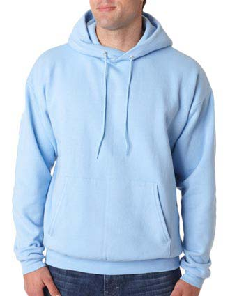 P170 Hanes Adult ComfortBlend® EcoSmart® Hooded Pullover-HA-P170