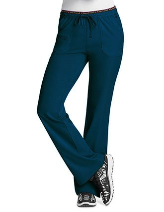 HeartSoul Women's Heart Breaker Low-Rise Drawstring Tall Scrub Pant