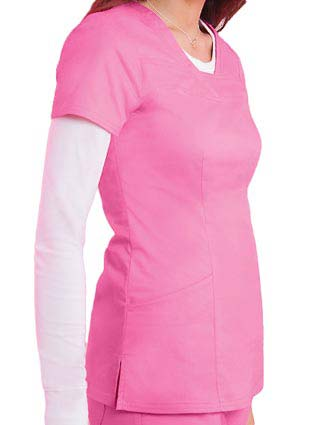 HeartSoul Women's Serenity V-Neck Scrub Top-HE-20750