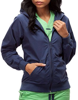 IguanaMed Women's The Zip Hoodie-IG-5050