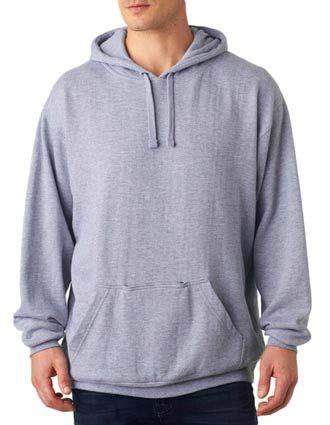 J8815 J-America Blended Tailgate Hooded Sweatshirt-JA-J8815