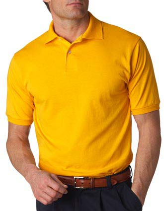 437 Jerzees Adult Jersey Polo with SpotShield-JE-437