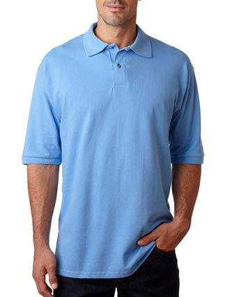440 Jerzees Men's Ring-Spun Cotton Piqué Polo-JE-440