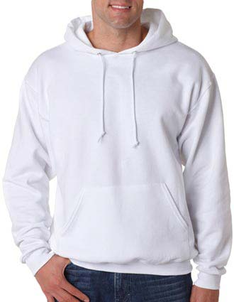 Jerzees Adult Super Sweats Blended Hooded Pullover Sweatshirt