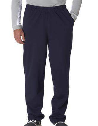 974 Jerzees Adult NuBlend® Open-Bottom Sweatpants with Pockets-JE-974