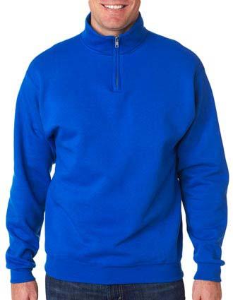 995 Jerzees Adult NuBlend® Quarter-Zip Cadet-Collar Sweatshirt-JE-995
