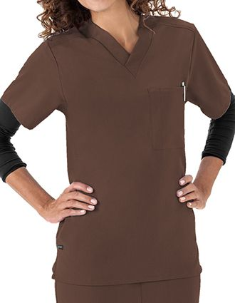 Jockey Scrubs Unisex Single Pocket V-Neck Nurses Top-JO-2200