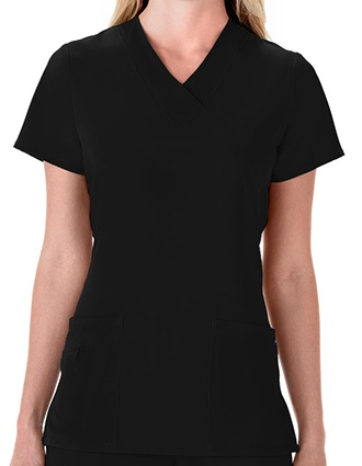 Jockey Scrubs Women Three Pocket Soft V-Neck Top-JO-2206