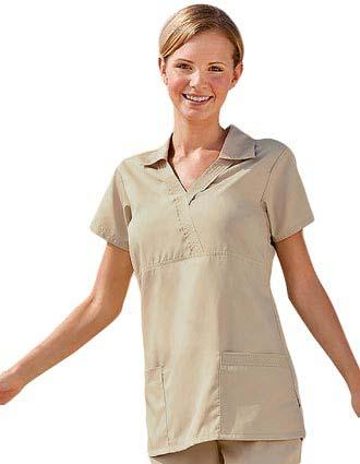 Buy Jockey Scrubs Womens Three Pocket Johnnie Collar