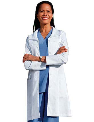 Jockey Scrubs 36 Inch Womens Fashion Medical Lab Coat