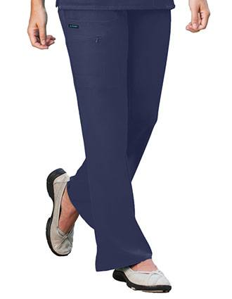 Jockey Scrubs Women Zipper Pocket Flare Medical Pants-JO-2249