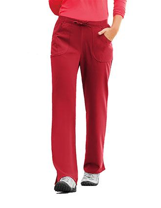 Jockey Scrubs Womens Rib Knit Combo Comfort Pants-JO-2255