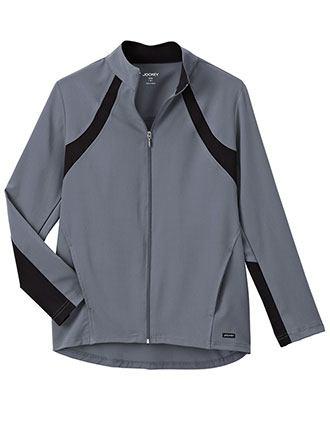 Jockey Modern Women's Athletic Contrast Warm Up Jacket