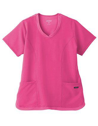 Jockey Ladies Cool Mesh Shirttail Top