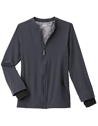 Jockey Performance RX Women's REFLECTech Solid Scrub Jacket