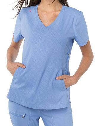 KOI Lite Women's Philosophy Fashion Scrub Top