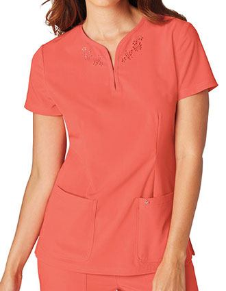 KOI Sapphire Women's Talie Fashion Scrubs Top