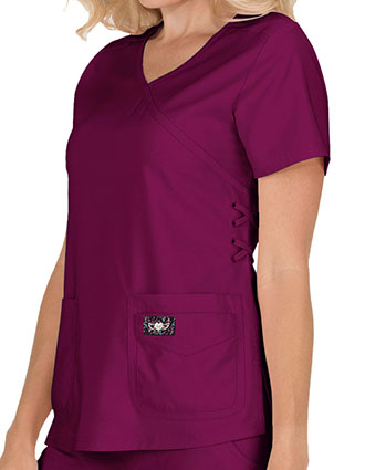 KOI Tech Women's Abby Basic Scrubs Top