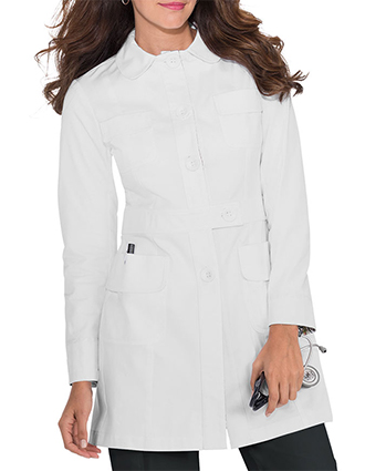 KOI Women's Geneva Fashion Lab coat