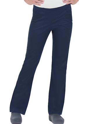 Landau Women Natural Smart Stretch Flare Nursing Scrub Pants-LA-2015