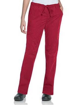 Landau Women's CVC Straight Leg Cargo Pant