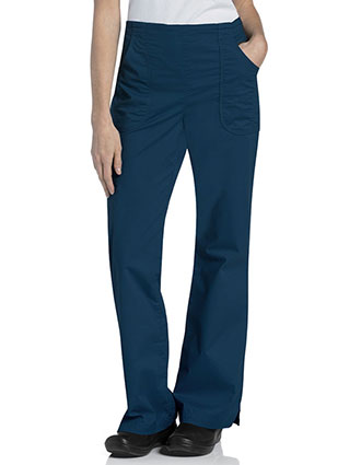 Landau Women's Prewash Flat Front Cargo Tall Pant
