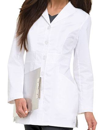 Landau 31.5 inch Missy Smart Stretch Signature White Nursing Lab Coat