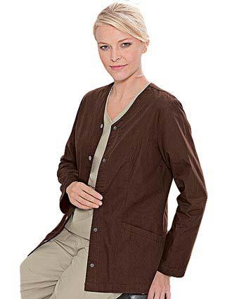 Landau E Women Medical Warm Up Scrub Jacket