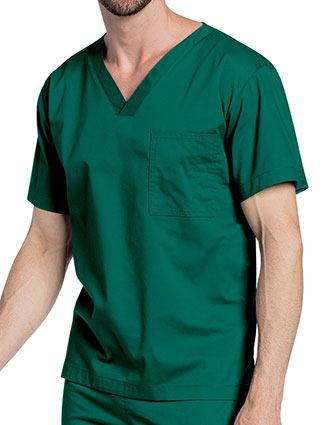 Landau All-Day Unisex V-Neck Scrub Top