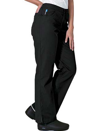 Landau FX Women Jeans Inspired Elastic Waist Medical Scrub Pants-LA-6307