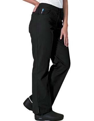 Landau FX Women Jeans Inspired Elastic Waist Medical Scrub Pants-LA-6307