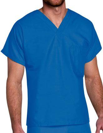 Landau ScrubZone Unisex V-Neck Nurse Scrub Top-LA-71221