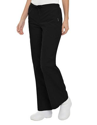 Landau Women Flare Leg Tall Drawstring Medical Scrub Pants