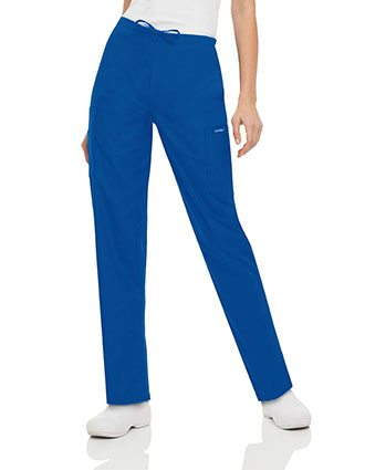 Landau ScrubZone Women Five Pocket Cargo Drawstring Scrub Pants-LA-8512